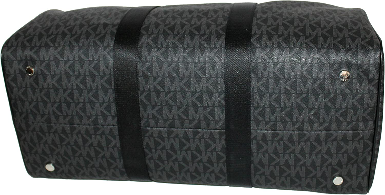 Michael Kors Leather Travel Logo Duffle Large Bag Printed