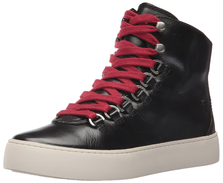 FRYE Women's Lena Hiker Fashion Sneaker B01N819BOJ 6 B(M) US|Black