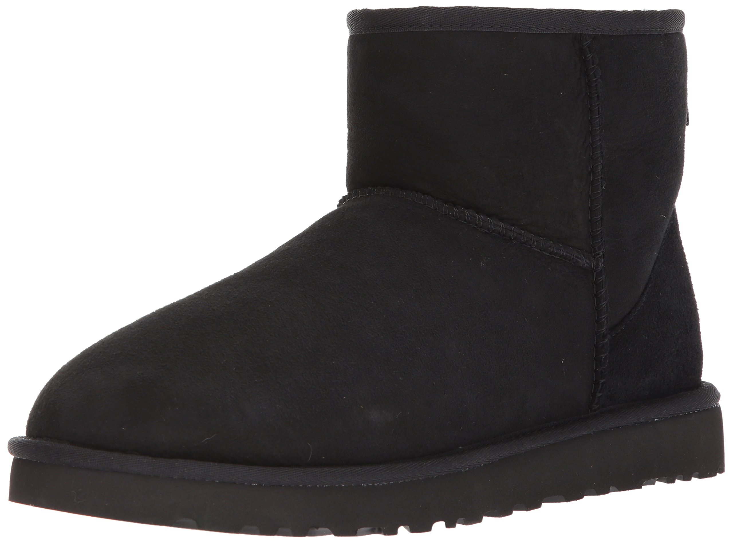 Ugg Men's Classic Mini Winter Boot, Black, 9 US/9 M US