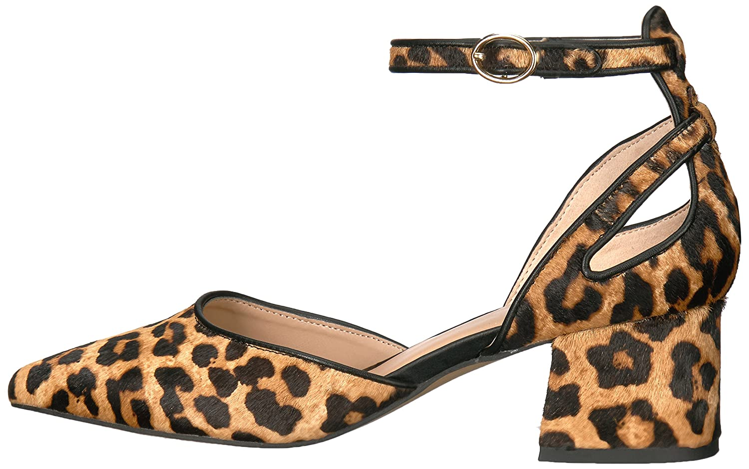 Franco Sarto Women's Caleigh Pump B06XSFZK6G 6 B(M) US|Leopard