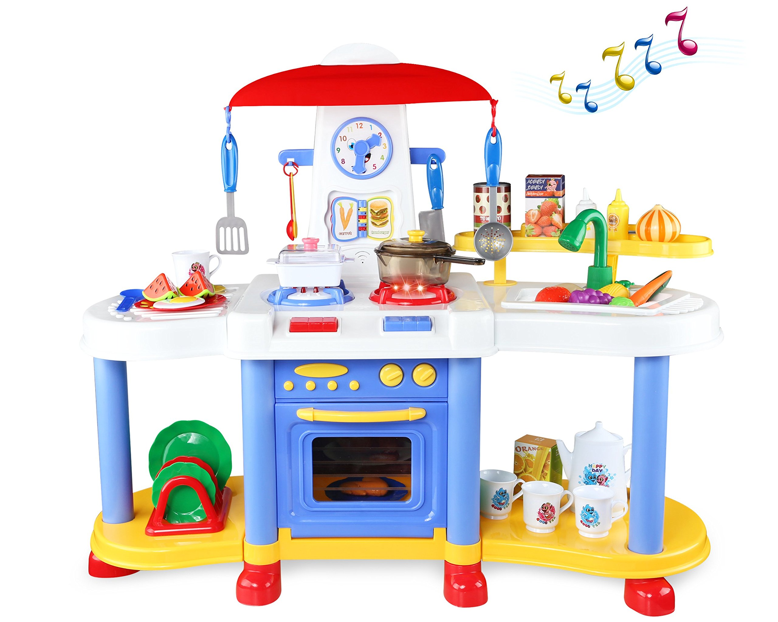 Awesome Kitchen Play Set Toy Development With Accessories FOR Girl ...