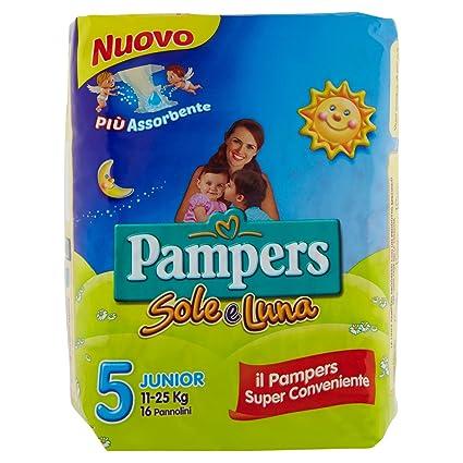 Pampers - Sole e Luna - Pañales - Talla 5 (11-25 kg)