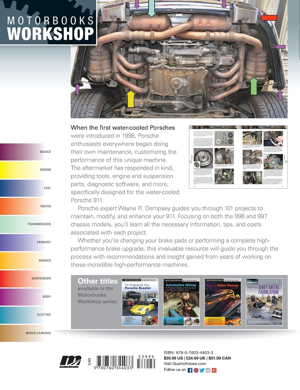 101 Projects for Your Porsche 911, 996 and 997 1998-2008 (Motorbooks Workshop) by imusti (Image #3)