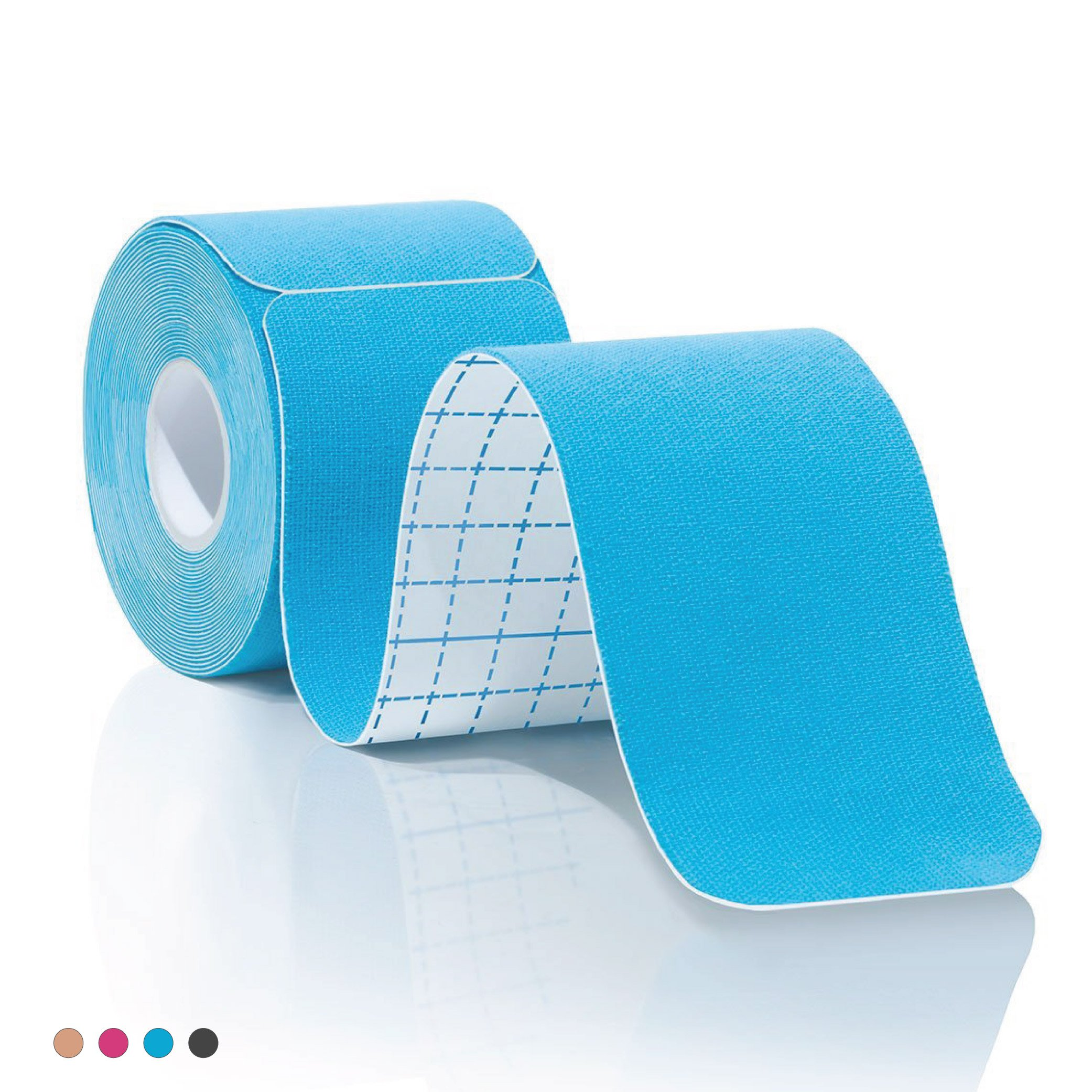 Amazon.com: Kinesiology Tape Pro Athletic Sports. Knee, Ankle, Muscle, Kinetic Sport Dynamic, Physical Therapy. Strong-Rock Breathable h2o Resist Cotton.