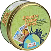 CocoMoco Trump Cards- Countries, Famous Monuments and Buildings- Geography Games, Educational Toy, Return Gift for Kids…