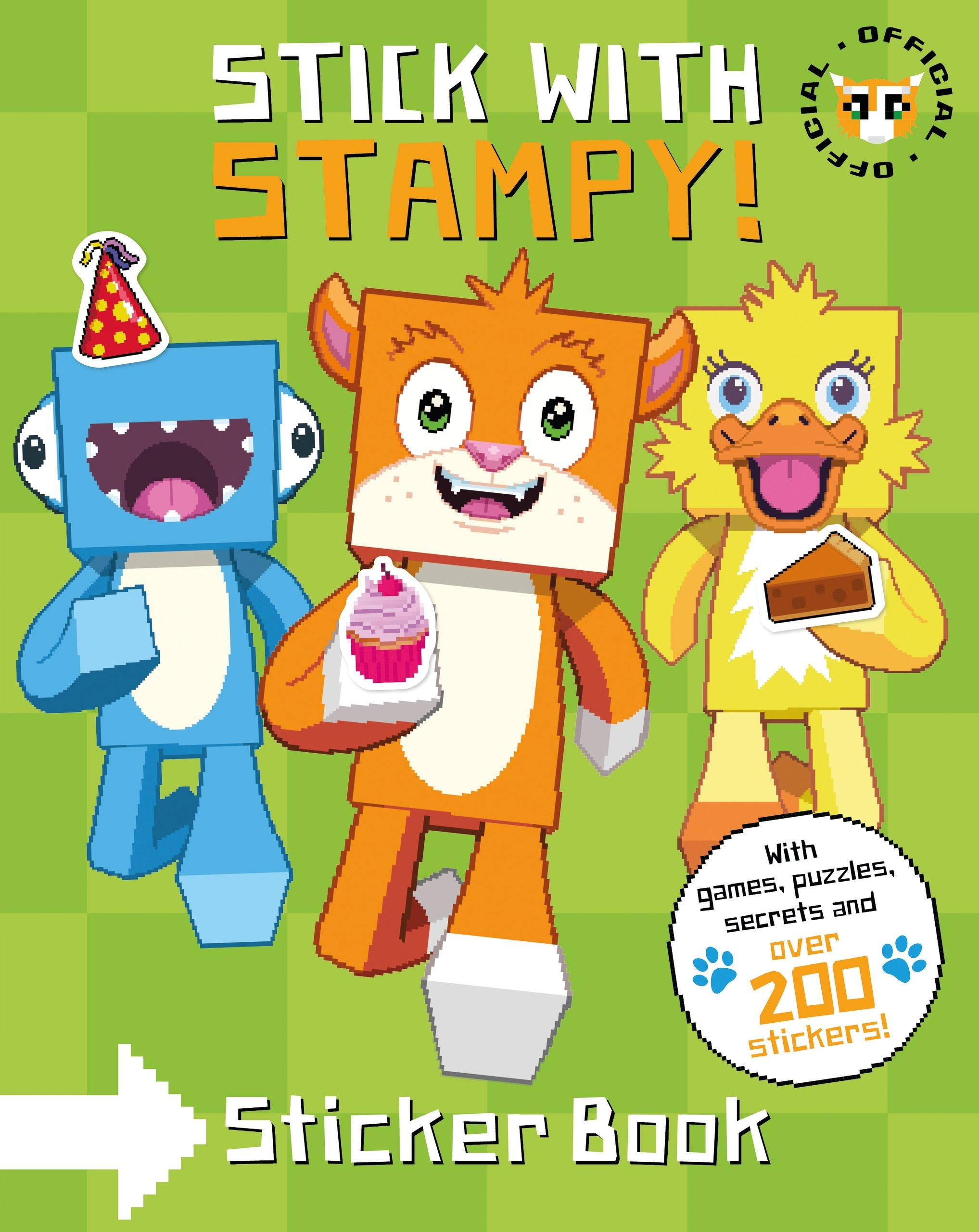 Stampy Cat: Stick with Stampy! (Sticker Activity Book) pdf