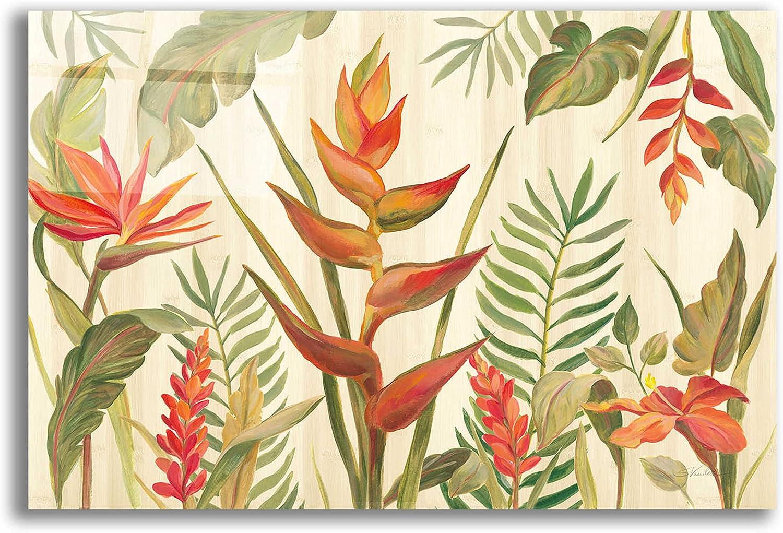 Epic Art 'Tropical Garden VII' by Silvia Vassileva, Acrylic Glass Wall Art, 16