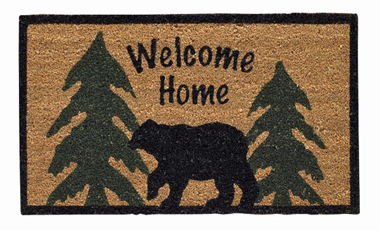 Captivating Amazon.com: Park Designs Welcome Home Black Bear Doormat: Home U0026 Kitchen