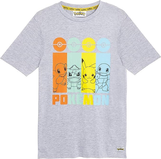 Pokemon Camiseta Niño, Camisetas Niño Manga Corta con Personajes ...