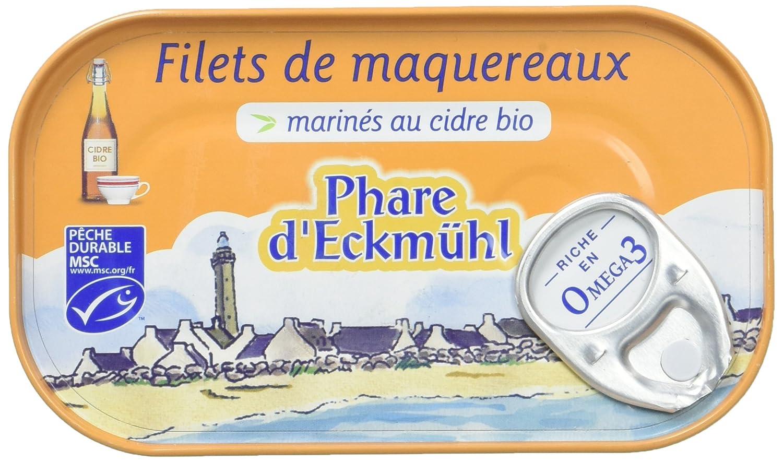 Phare d'Eckmül Filets de Maquereaux Marinés au Cidre Bio 118 g