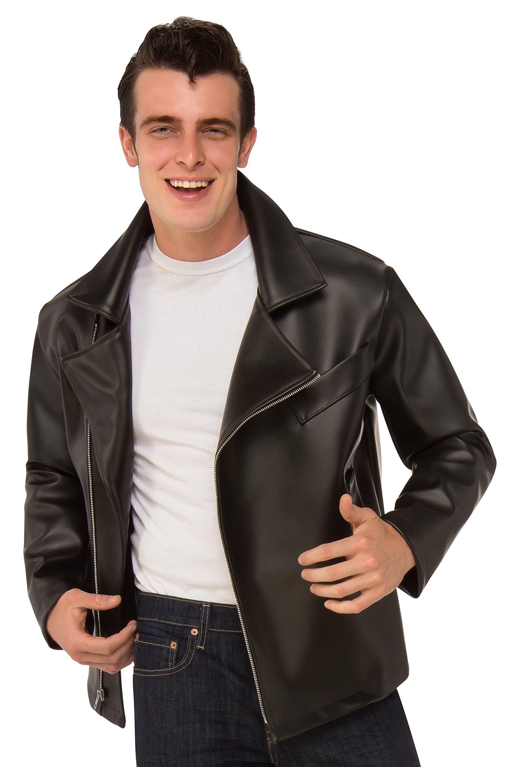 Rubie's Men's Grease, T-Birds Jacket, As Shown, Standard