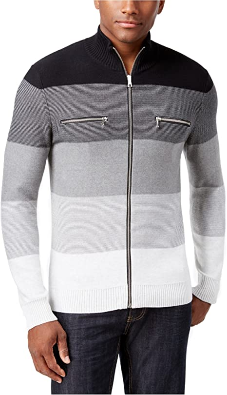 I-N-C Mens Copperfield Cardigan Sweater