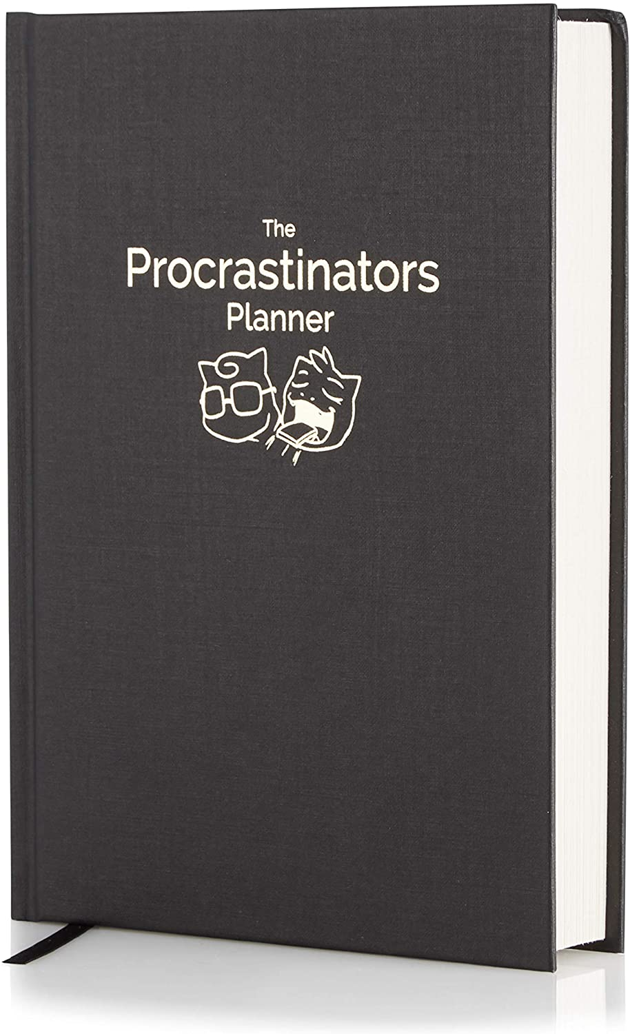 The Procrastinators Planner - Daily/Weekly Organizer Designed to Increase Productivity and Combat Procrastination - Hardcover Half Year 182 Day Planner with Science and Philosopy of Procrastination