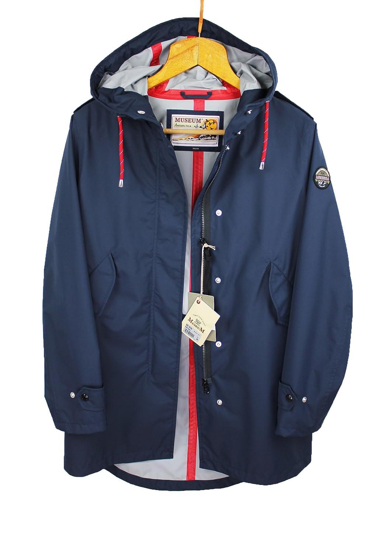 Parka Mantel Museum MBekleidung Damen Blau mN08vnw