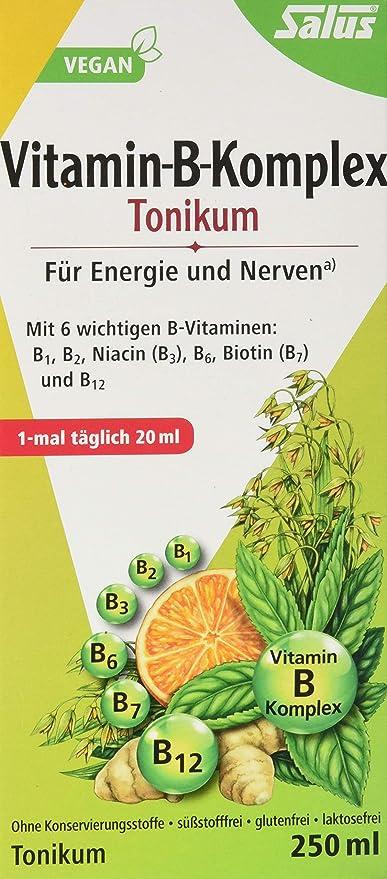 Vitamina B complejo tonikum Salus 250 ml tonikum