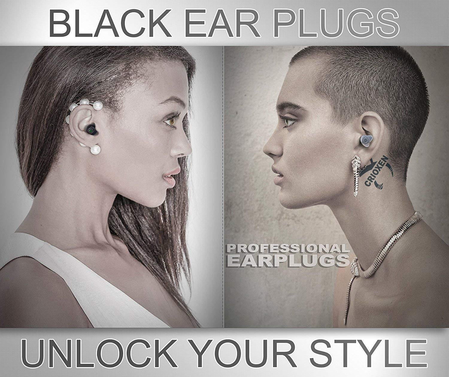Noise Cancelling Ear Plugs for Sleeping - High Fidelity Silicone Earplugs Musicians' by CRIOXEN (Image #4)