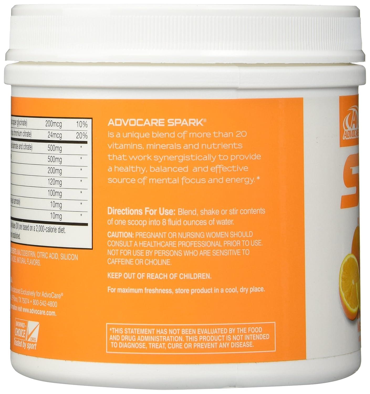 Advocare products cost - Amazon Com Advocare Mandarin Orange Spark Canister 10 5 Ounce New Health Personal Care