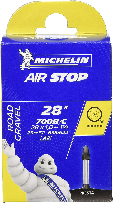 Michelin 700X25/32 Bici Cámara, Unisex, Negro, Talla Única: Amazon ...