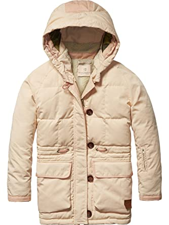 247626688 Scotch   Soda R Belle Girl s Technical Parka with Contrast Panels ...