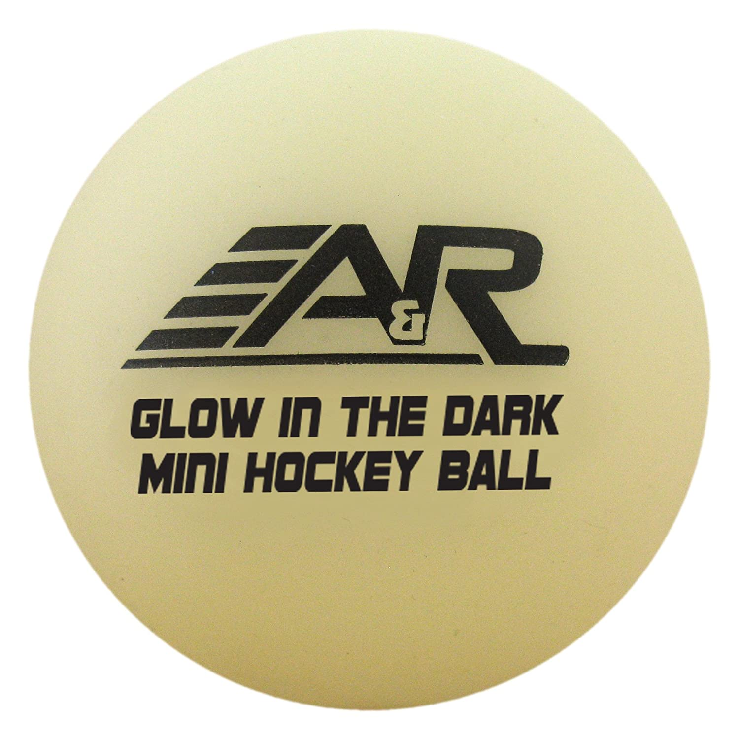 A & R Sports Mini-Bälle (4 Stück), Glow in the Dark A&R Sports MGLOBALL-4