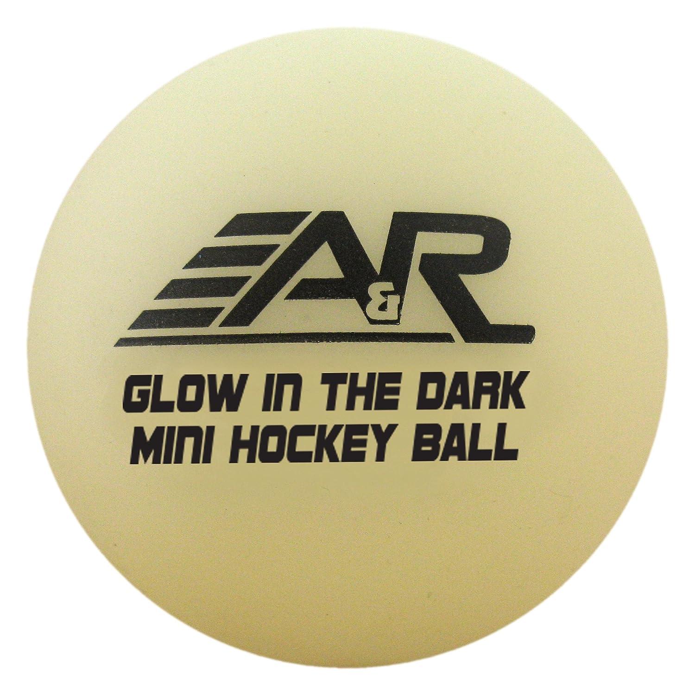 A & R Sports Mini-Bälle (4Stück), Glow in the Dark A&R Sports MGLOBALL-4