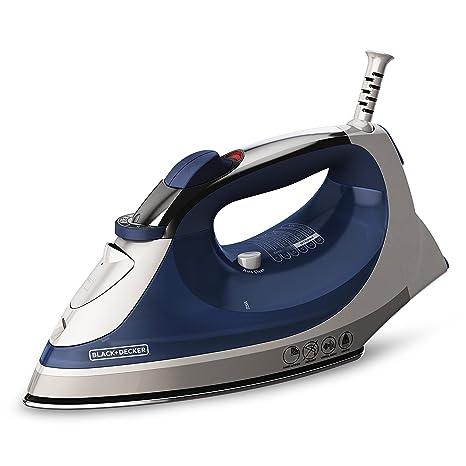 IR05X BLACK+DECKER Xpress Steam Iron Smartsteam Technology Aquamarine