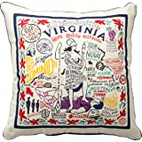 "POLO ASSN Farmhouse Embroidered Dot Decorator Boudoir Pillow Blue 13/""x20/"" U.S"