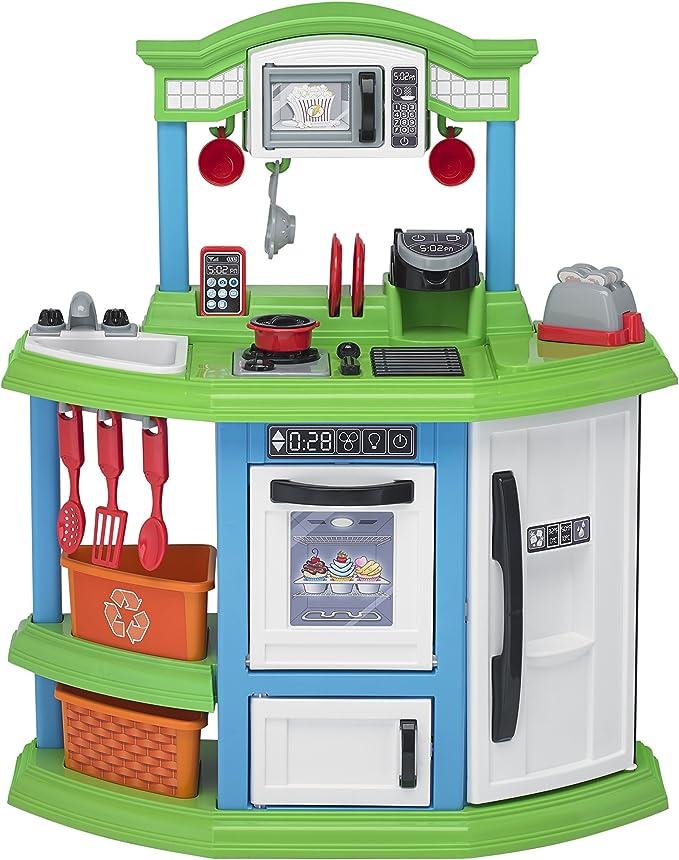 American Plastic Toys Cozy Comfort Kitchen Playset Toys Games Amazon Com