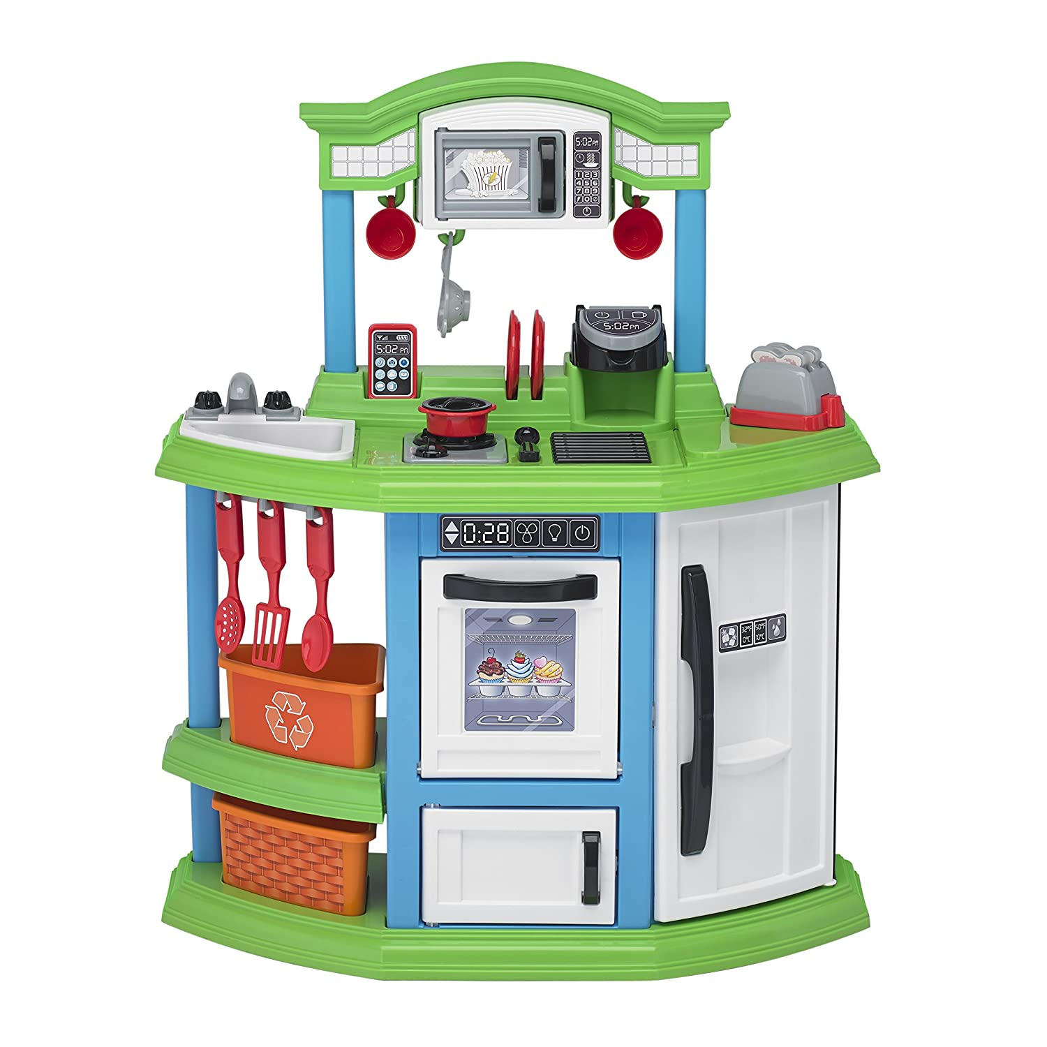 Amazon American Plastic Toys Cozy fort Kitchen Playset