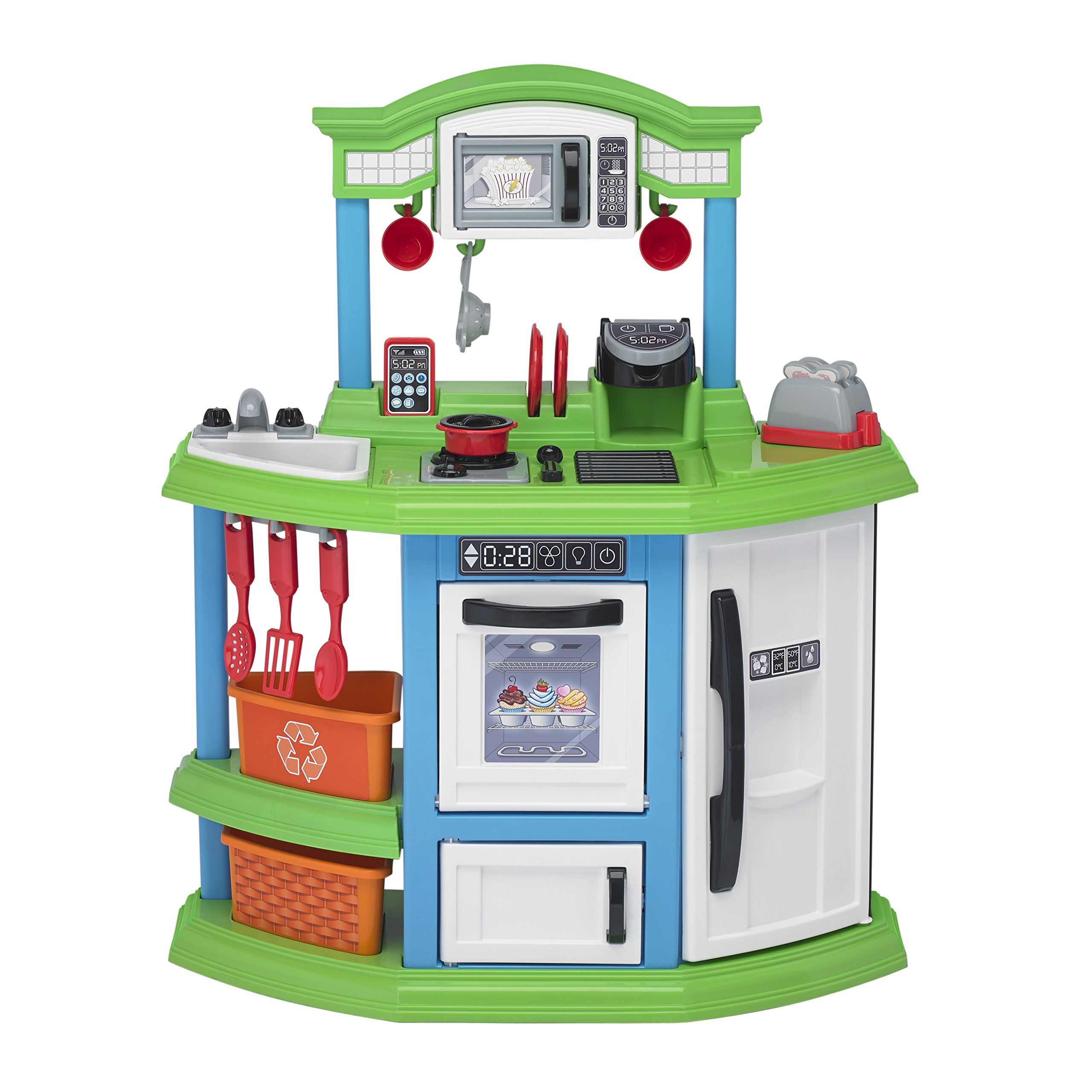 American Plastic Toys Cozy Comfort Kitchen Playset by American Plastic Toys