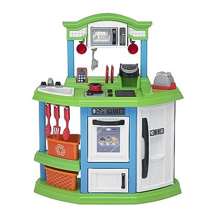 American Plastic Toys Cozy Comfort Kitchen Playset