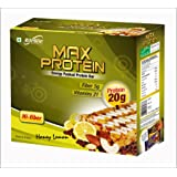 RiteBite Max Protein Honey Lemon Bar - Pack of 6