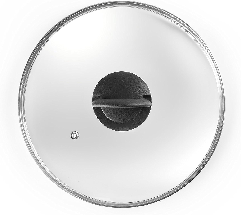 Acier IBILI 970932 Couvercle Poinee Piante 32 x 32 x 4 cm Blanc