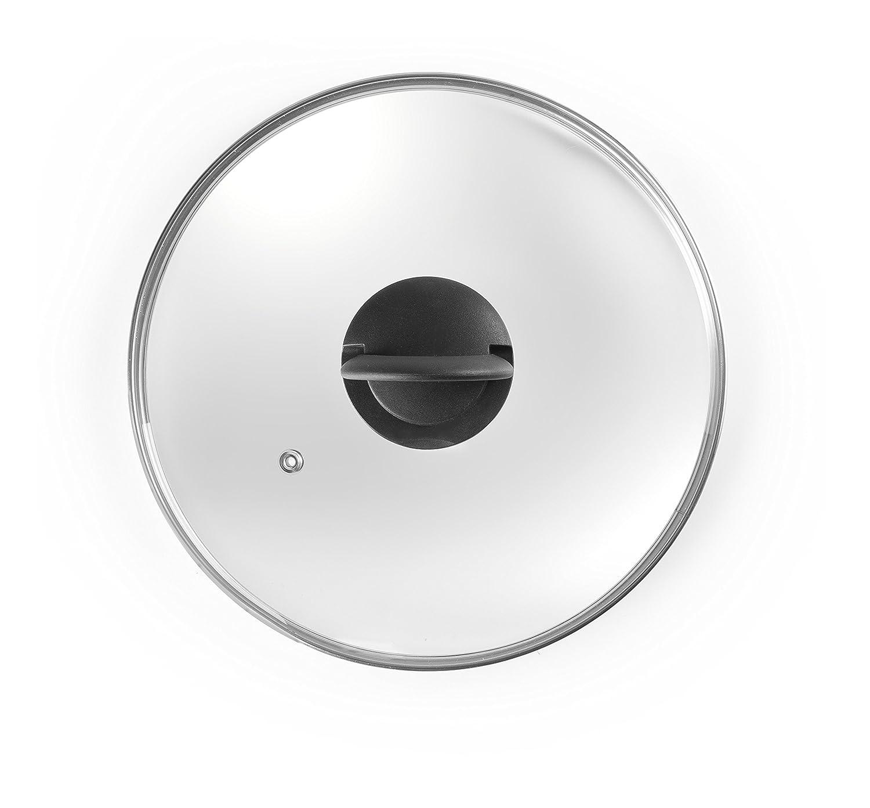 IBILI Glass Cover Foldable Handle 32 cm, 32 x 32 x 4 cm Ibili Menaje SA Ibili_970932