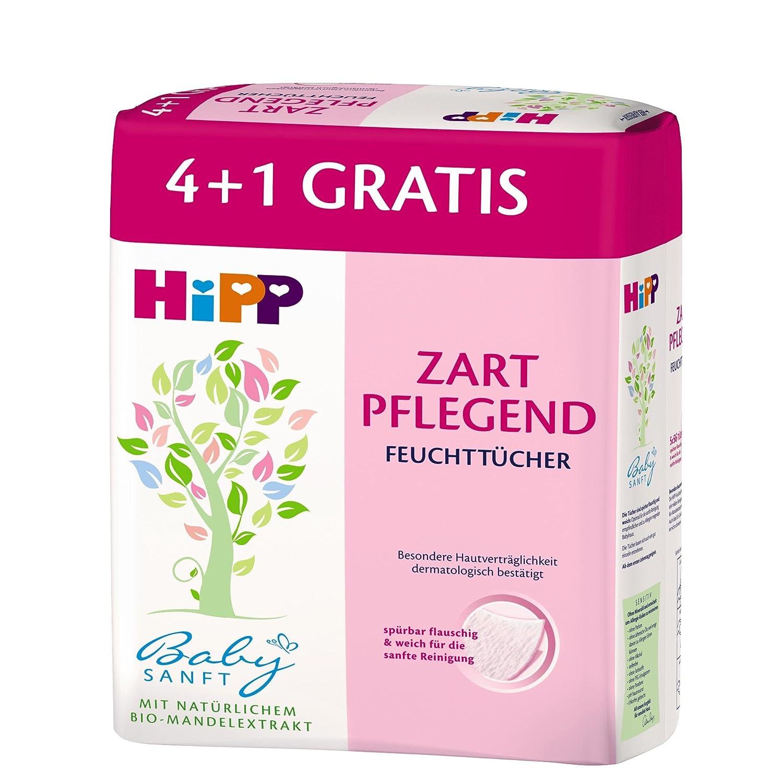 HiPP Babysanft Feucht-Tücher, 3er Pack (3x5x56 St.) 9688