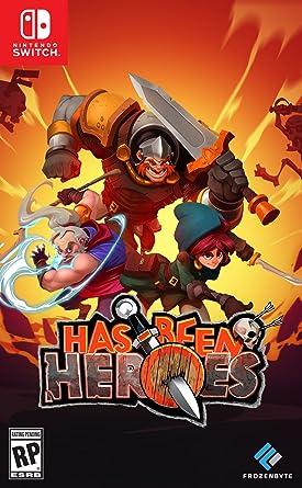 Has Been Heroes - Standard Edition - Nintendo Switch: Amazon.com.mx: Videojuegos