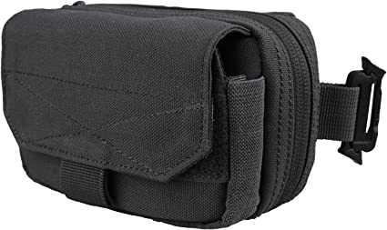 Condor Flashlight Pouch with Molle /& Carabiner Black