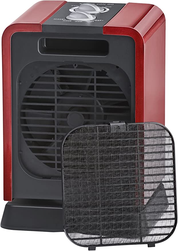 Steba KH 2 - Ventilador (Negro, Rojo, 1800 W, 220 V, 50 Hz, 175 x 160 x 255 mm, 1.7 kg): Amazon.es: Hogar
