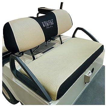 Amazon.com: Fundas de asiento para carrito de golf 10L0L ...