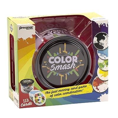 Pressman Toys Color Smash Tin in Box Game: Toys & Games