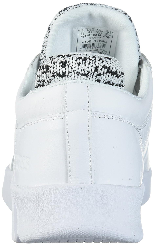 5fabb0fd Zapatillas deportivas K-Swiss para hombre Aero Trainer Blanco negro