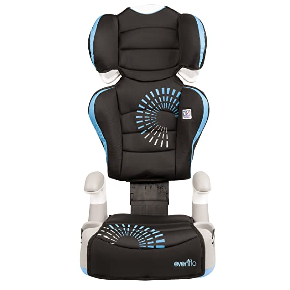 Evenflo Big Kid AMP Booster Car Seat Sprocket