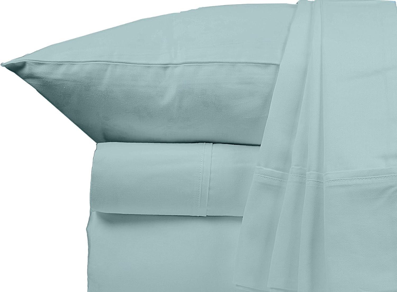 Bluemoon Homes Luxurious 1000 TC Italian Finish 100% Egyptian Cotton 4-Piece Bed Sheet Set, Fitss Mattress Up to 18
