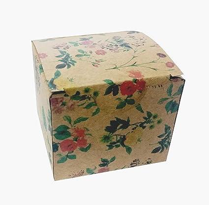 MINTKRAFT Pack 0F 50 DIY Folding Paper Box for Rakhi Gifting