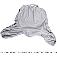 Milliard Reading Pillow Replacement Cover 18x15 inches - Fits The 18 Inch & Linenspa Standard Size Reading Pillows (Pillow NOT Included)