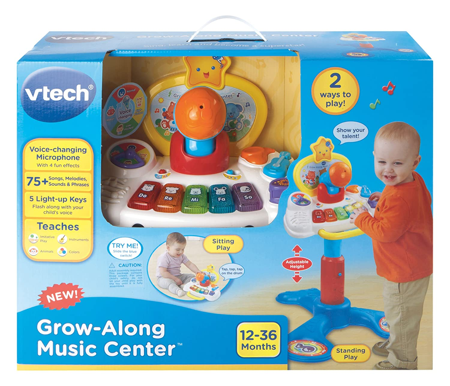 Amazon VTech Grow Along Music Center Toys & Games
