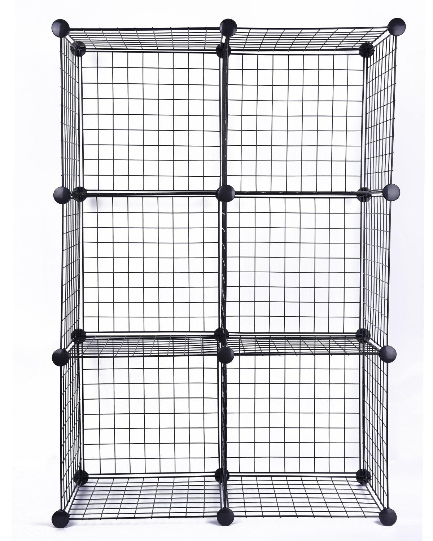 Attractive Whitmor Wire Storage Cubes Set Of 6 Pattern - Schematic ...