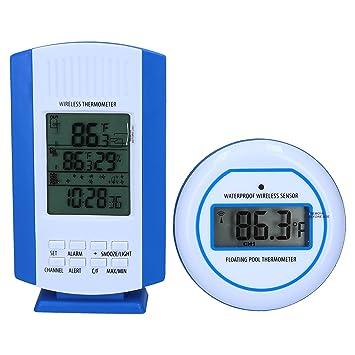 SL247 Digital Pool Termómetro Piscina, de radio para el control de la temperatura del agua