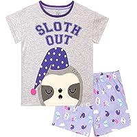 Harry Bear Pijama Corta para Niñas Perezoso
