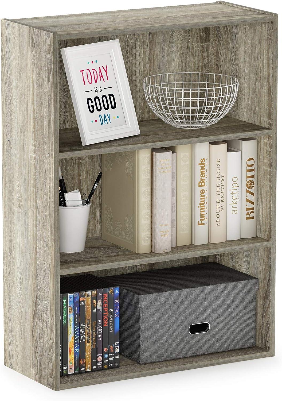 Furinno 3 Tier open shelf / bookcase $34.83  Coupon